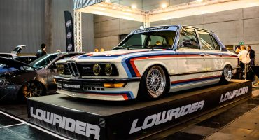 BMW 525 E12 at Custom Wheels Vienna 2019
