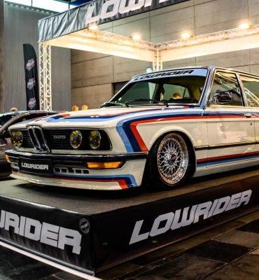 BMW 525 E12 at Custom Wheels Vienna 2019