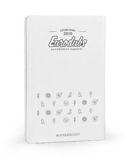 Eurodubs notebook back cover
