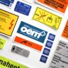 OEM Car Stickers Golf MK1 set