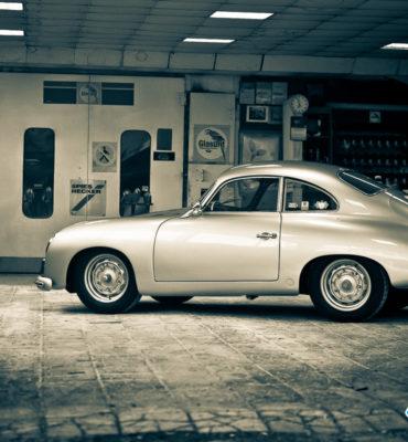 Porsche 356 Pre-A just painted