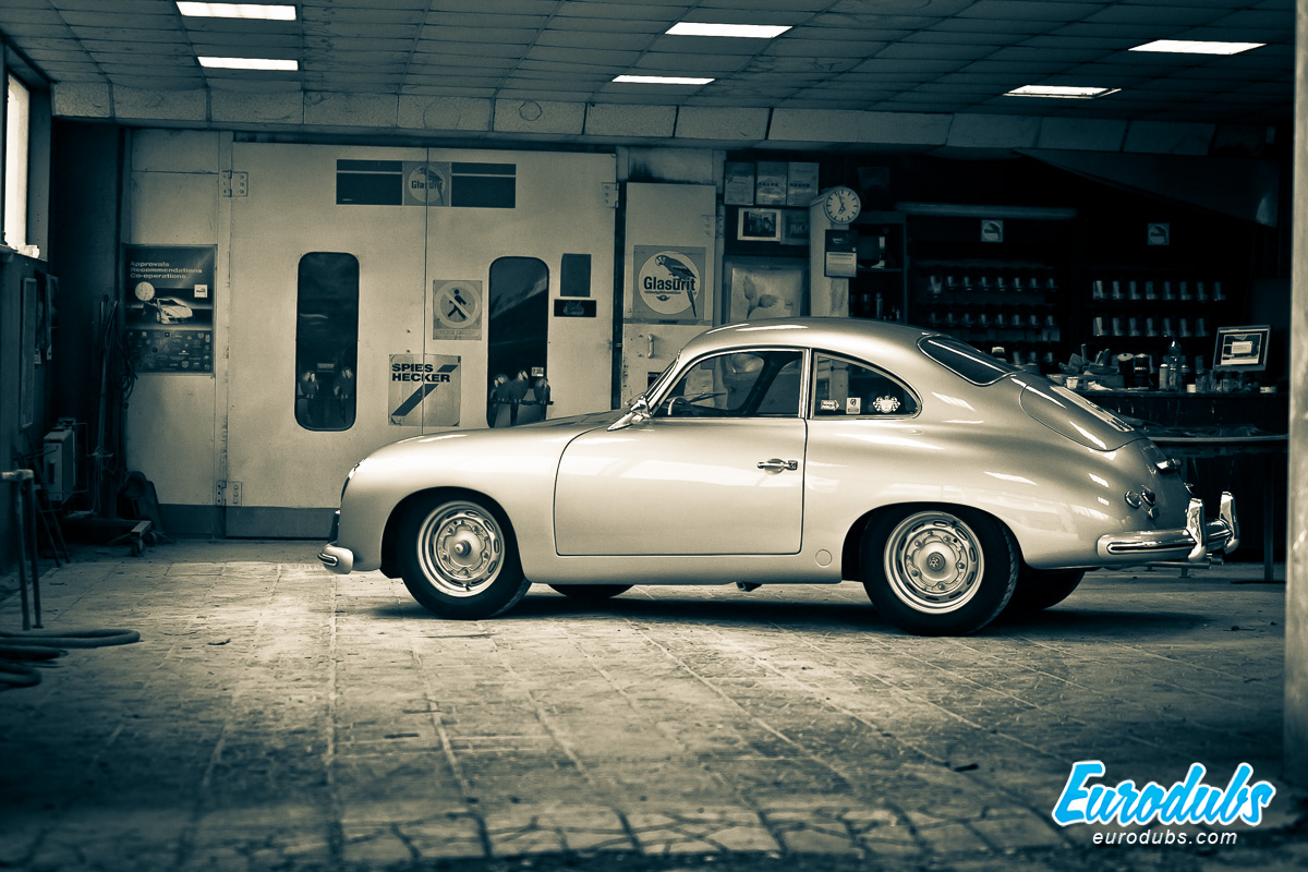Porsche 356 Pre-A just painted